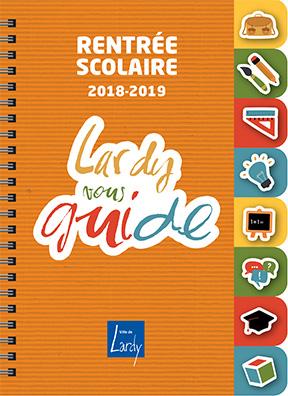 Couverture Rentrée scolaire 2018-2019