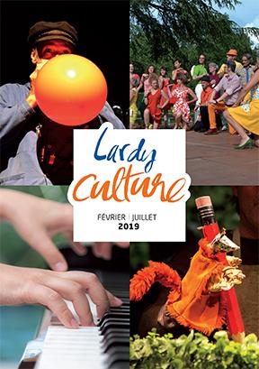Couverture Agenda culturel Février-Juillet 2019