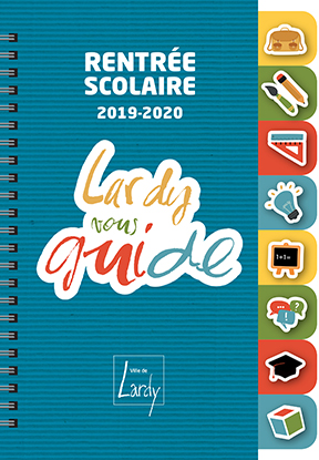 Couverture Guide de la rentrée scolaire 2019-2020