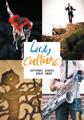 Couverture Agenda Culturel  Sept 2019 Février 2020