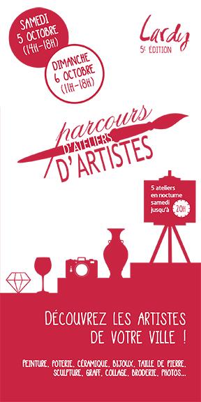 Couverture Parcours d'Ateliers d'Artistes 2019