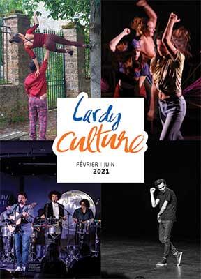 Couverture Agenda culturel fév-juillet 2021