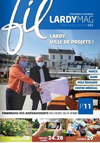 Couverture Magazine de mars – avril 2021 N°255