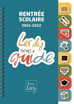 Couverture Guide de la rentrée scolaire 2021-2022