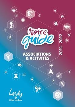 Couverture Guide des associations 2021-2022