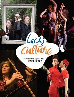 Couverture Agenda culturel septembre 2021 – janvier 2022